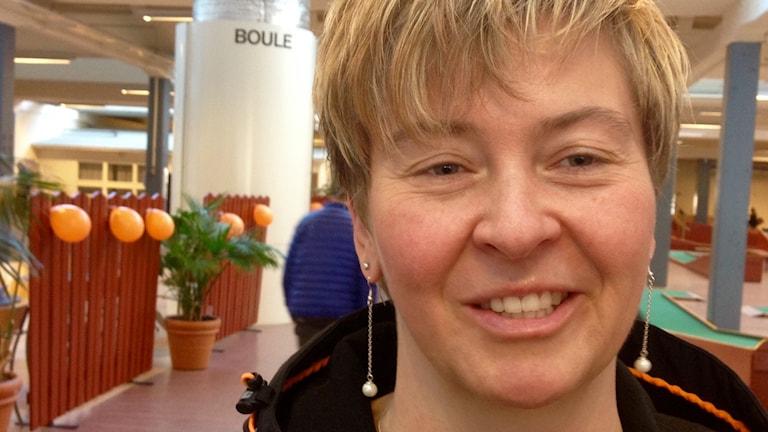 Marie Enqvist en av världens bästa skyttar.