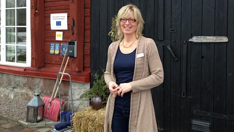 Christina Wetterberg på Låsta Gårdshotell.