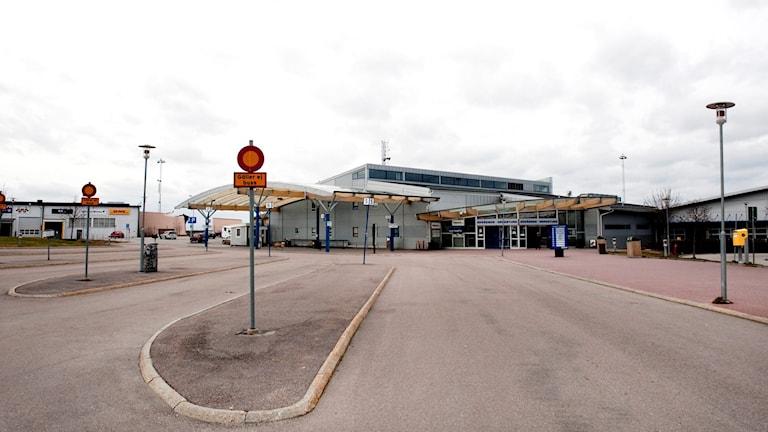 Skavsta flygplats.