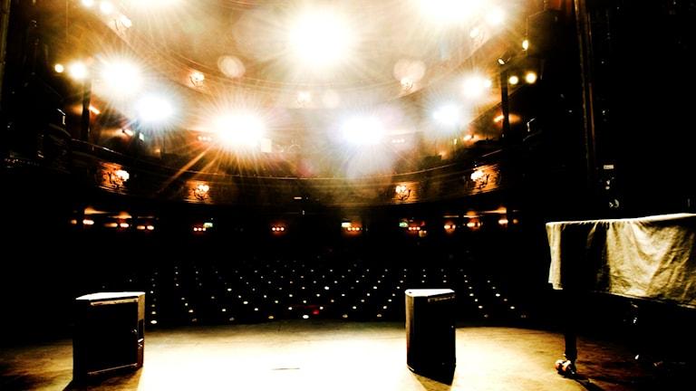 Teaterscen.