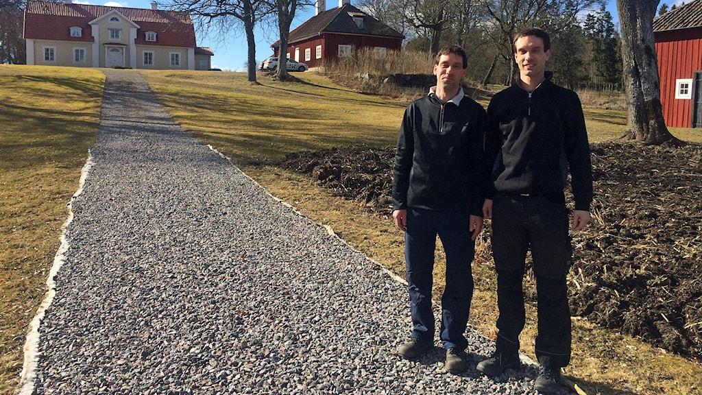 Tvillingbröderna Erik och Oscar Dieden.