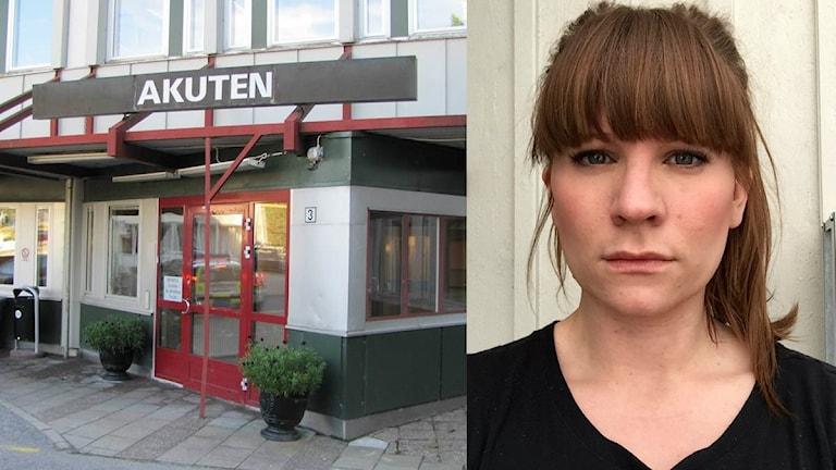 Zara Östergren är sjuksköterska på akutmottagningen i Nyköping.