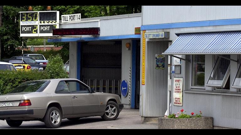 Bilbesiktning. Ulf Palm/TT.