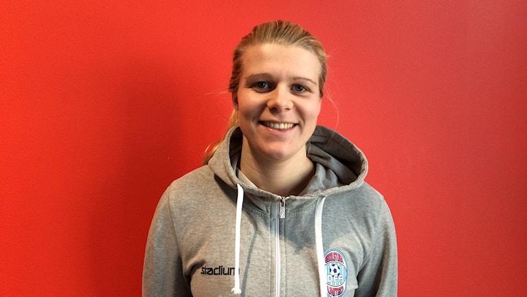 Emelie Lundberg, målvakt Eskilstuna United.