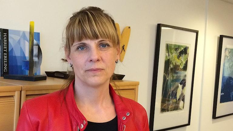 Anna Werner. Foto: Petra Levinson/Sveriges Radio.