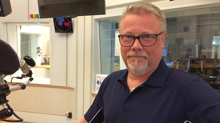 Jörgen Hedberg, länsidrottschef i Sörmland.