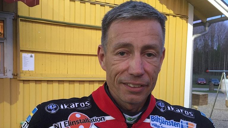 Magnus Zorro Zetterström i Griparna Speedway.