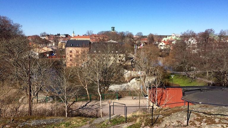 Vy över Nyköping.