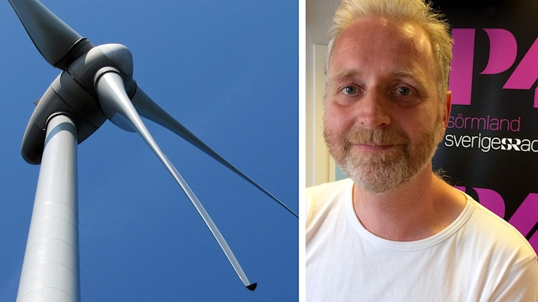 Vindkraftverk och Kjell Taawo