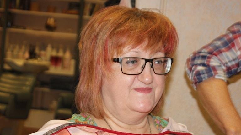 Sanja Hrusovar är i grunden kroat, men har bott i Sverige i många år.