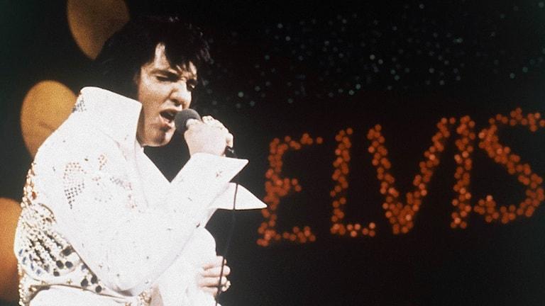 Elvis Presley 1972. Foto: AP/TT.