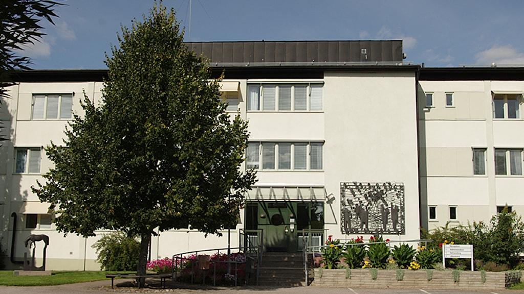 Karsuddens sjukhus i Katrineholm. Foto: David Nilsson-Hamne/Sveriges Radio.