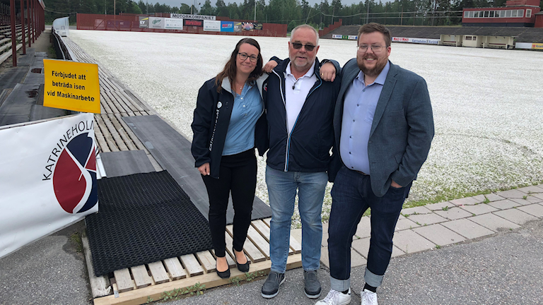 Ny arena Katrineholm.