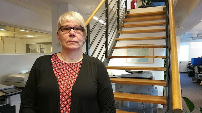 Monica Johansson, S, landstingsstyrelsens ordförande.