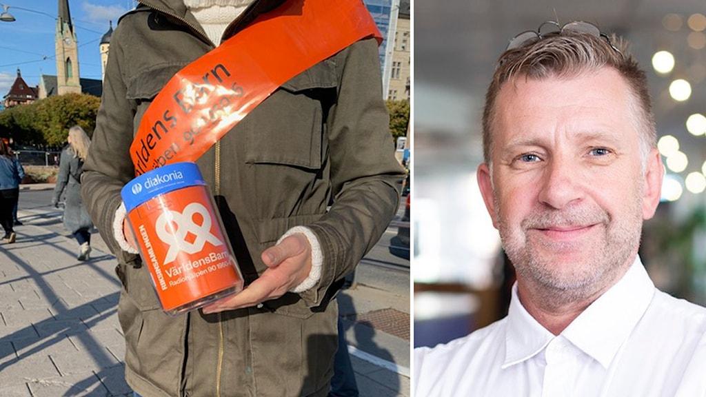 Göran Klingensjö Regionsamordnare på Väldens barn för Sörmland, Västmanland, Örebro län, Uppsala län och Dalarna