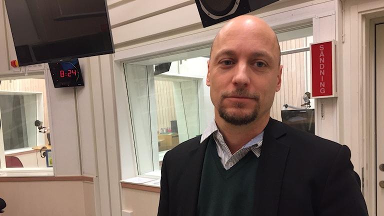Daniel Vesterhav, chef för enheten för forskning om organiserad och ekonomisk brottslighet på Brottsförebyggande rådet, Brå.