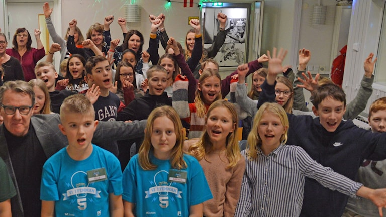 Skogstorpsskolan klass 5A, vi femman 2020
