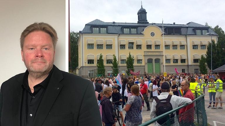 Anders Eriksson, centerpartistisk ordförande i Nyköpings barn- och ungdomsnämnd.