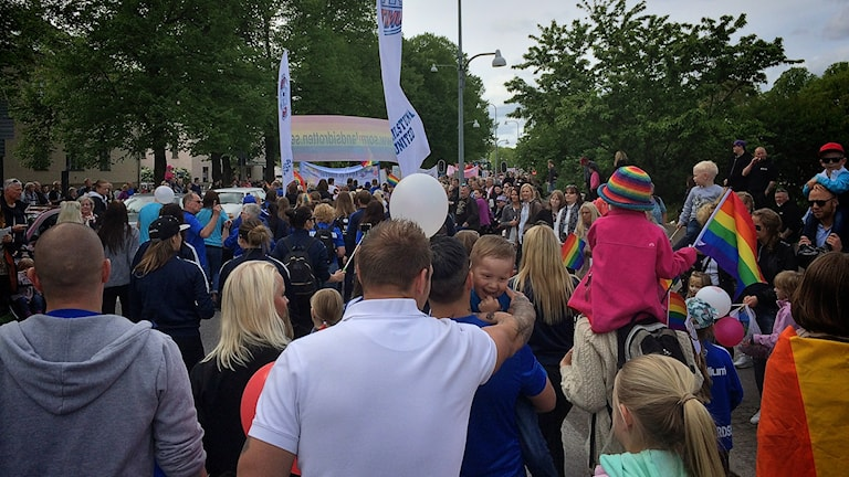 Springpride 2016 i Eskilstuna