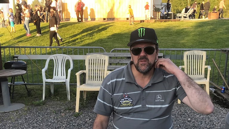 Anders Fröjd lagledare i Griparna speedway.