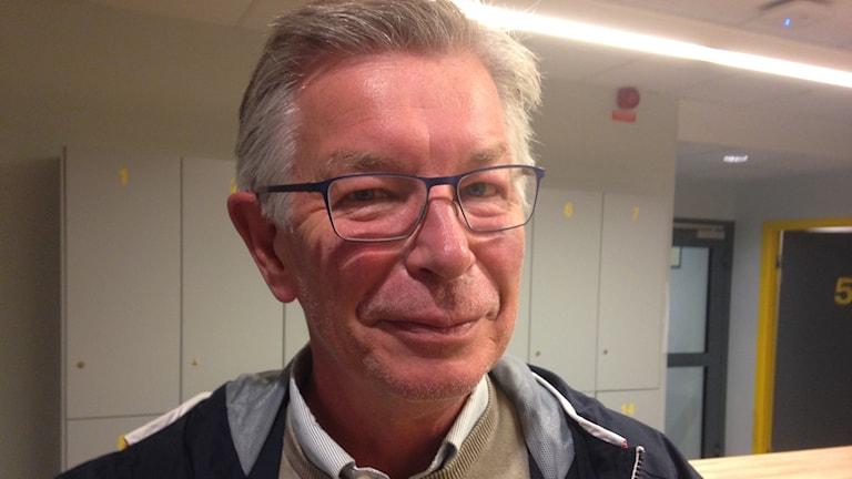 Jan-Ivar Kvickström. lärare i svenska för nyanlända elever på Prins Wilhelmgymnasiet i Flen.