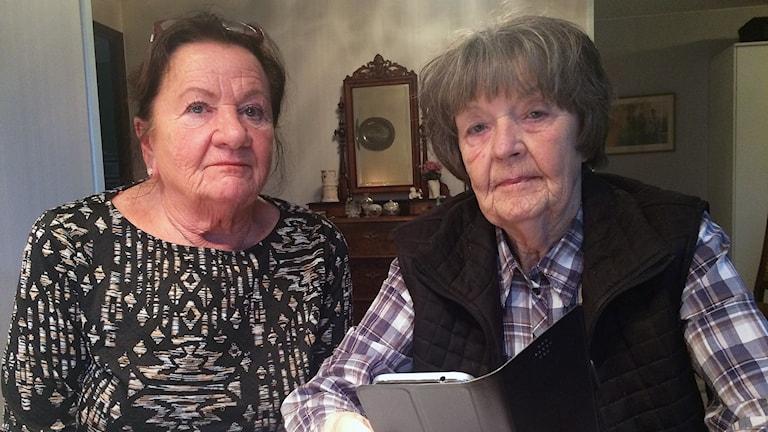 Anna Lill Johnsson och Lena Ölander