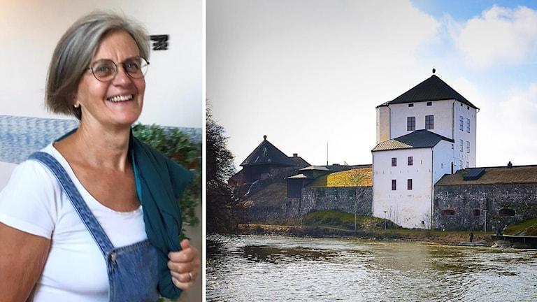 Kvinna ihopklippt med Nyköpingshus