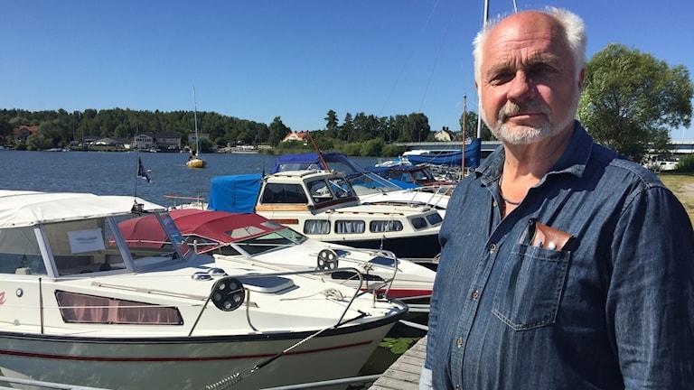Göran Carrehed i Stallarholmen