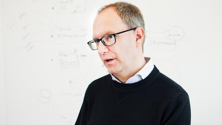Children's ombudsman Fredrik Malmberg