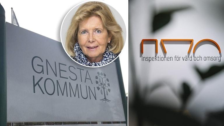 Ingrid Jerneborg Glimne (M), socialnämndens Ordförande i Gnesta.