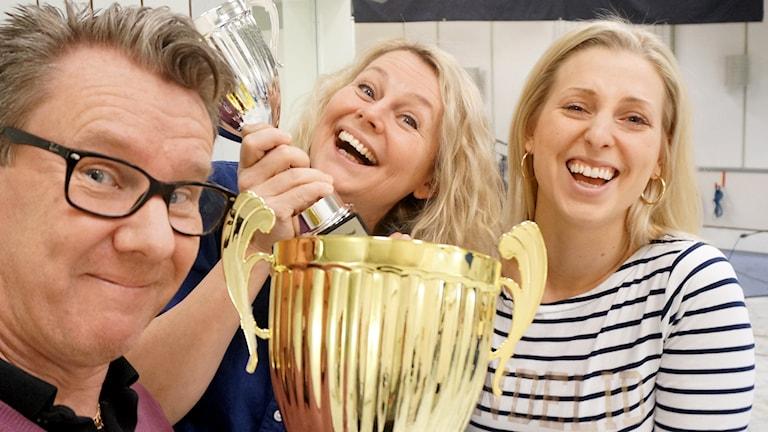 Jonas Carnesten, Lotten Bergman och Evelina Crabb