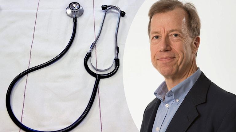 Göran Petersson är professor i e-hälsa