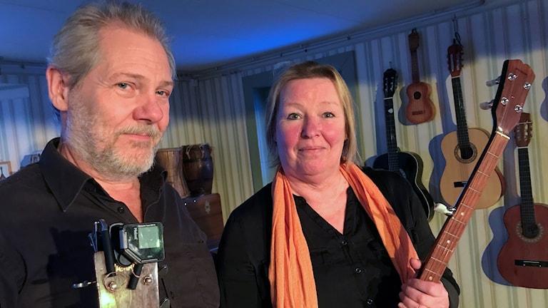 Janne och Anne Öster på Teater Klämman
