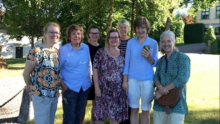 Åsa Ingårda, Gisela Scheffels, Clara Grill, Ulla Johansson, Irene Eklund, Ewelina Wiszomirska och Ebba von Wachenfeldt