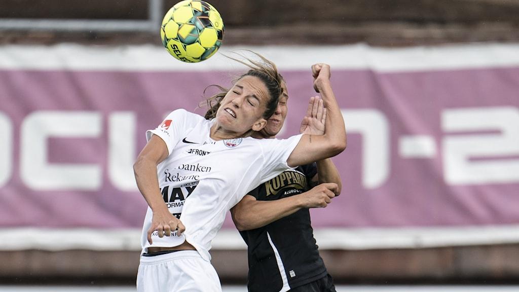 Fotboll, damallsvenskan, Eskilstuna United, Anna Oscarsson.