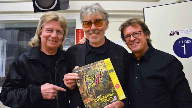 Electric Banana Band med Janne Schaffer, Lasse Åberg, Klasse Möllberg