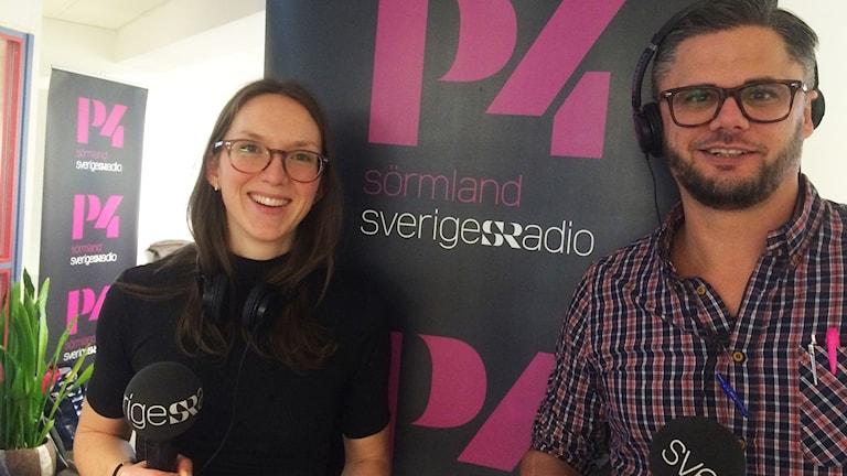 Johanna Jennische och Svante Ekberg
