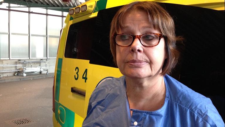 Karin Lindell, överläkare Linköpings lasarett. FOTO: Teresa Kristoffersson