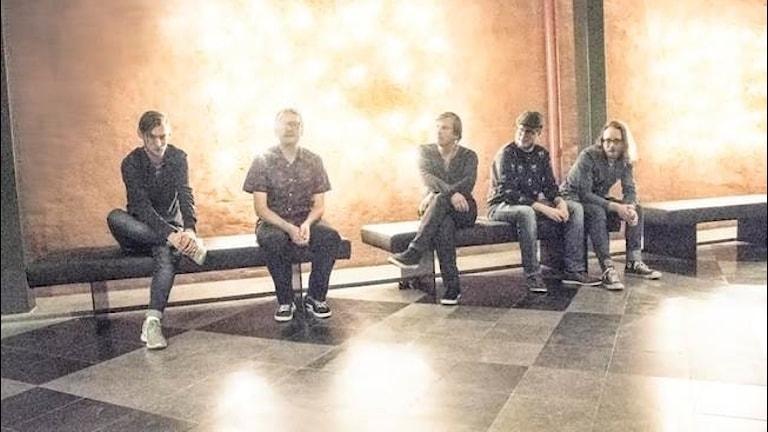 Bandet Blända med medlem i Nävekvarn