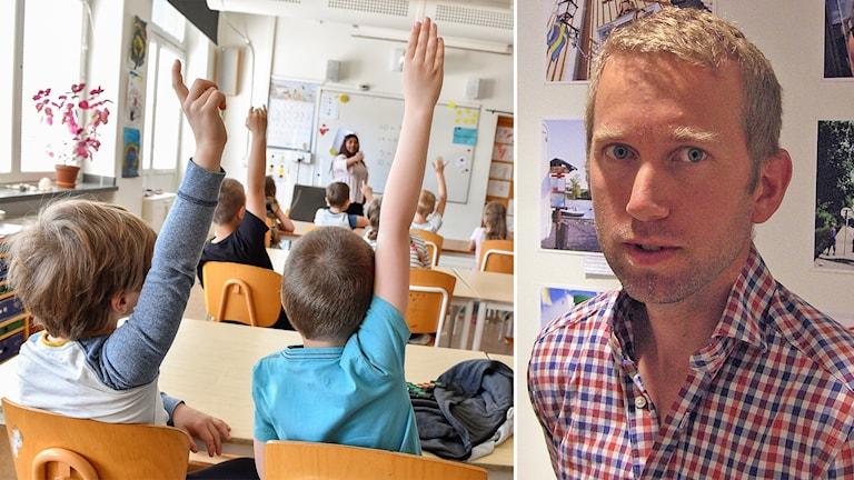 Jacob Högfeldt (m) är kommunstyrelsens ordförande i Strängnäs.