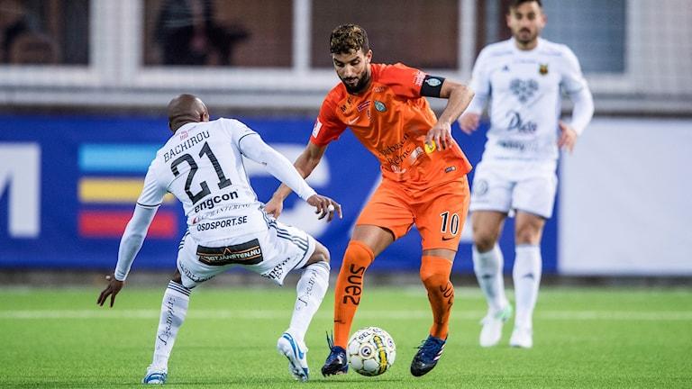 AFC Eskilstunas lagkapten Omar Eddahri.