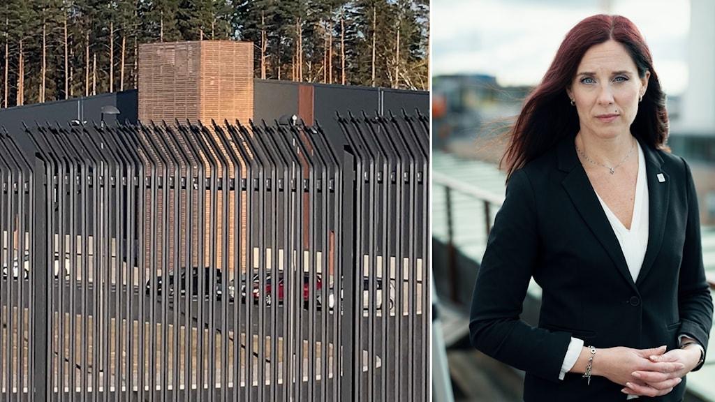 Amazons webbhall & Ulrika Lindstrand Förbundsordförande Sveriges ingenjörer