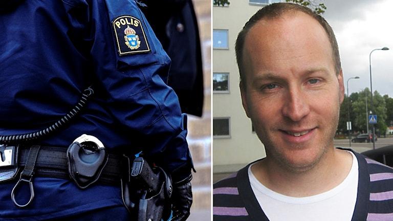 Martin Ulvenhag är ordförande i polisförbundet region öst