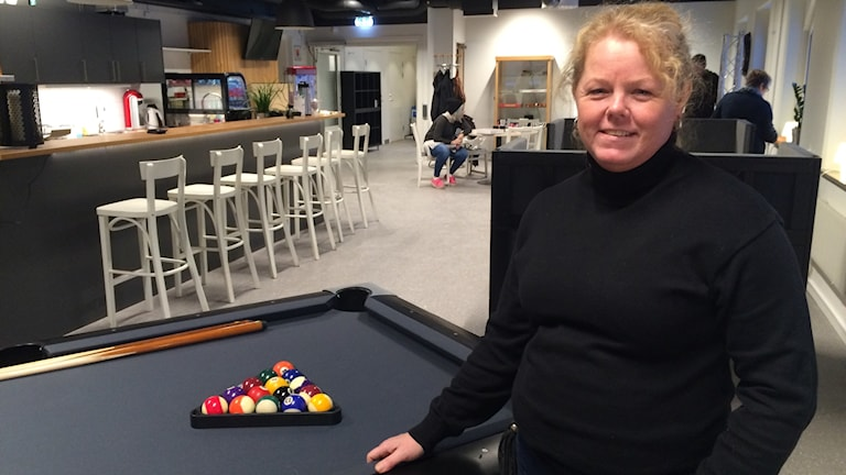 Ulrika Klang, verksamhetschef för fritidsgårdarna i Strängnäs kommun.