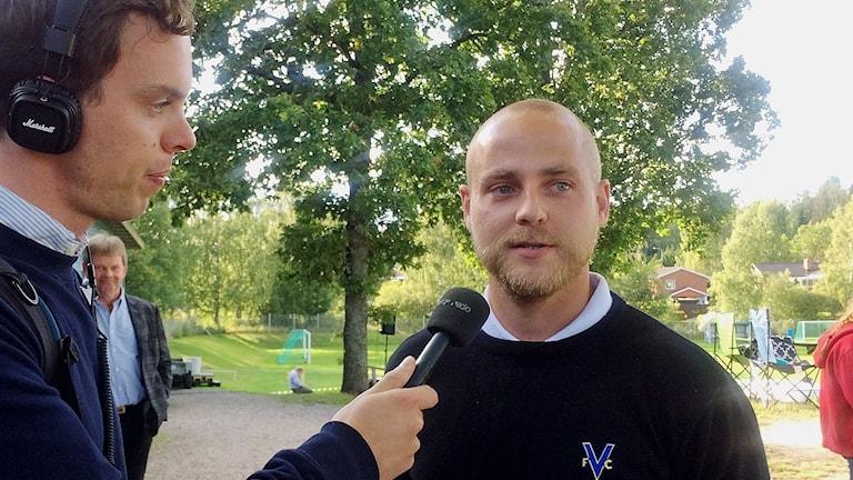 Rickard Johansson, Värmbol.