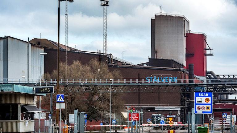 SSAB Oxelösund, tidigare Oxelösunds järnverk. Foto: Marcus Ericsson/TT.