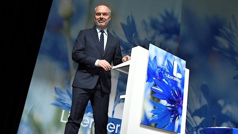 Partiledaren Jan Björklund. Claudio Bresciani/TT.