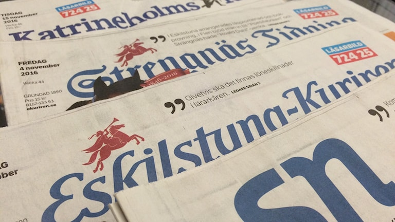 Tidningar Sörmland