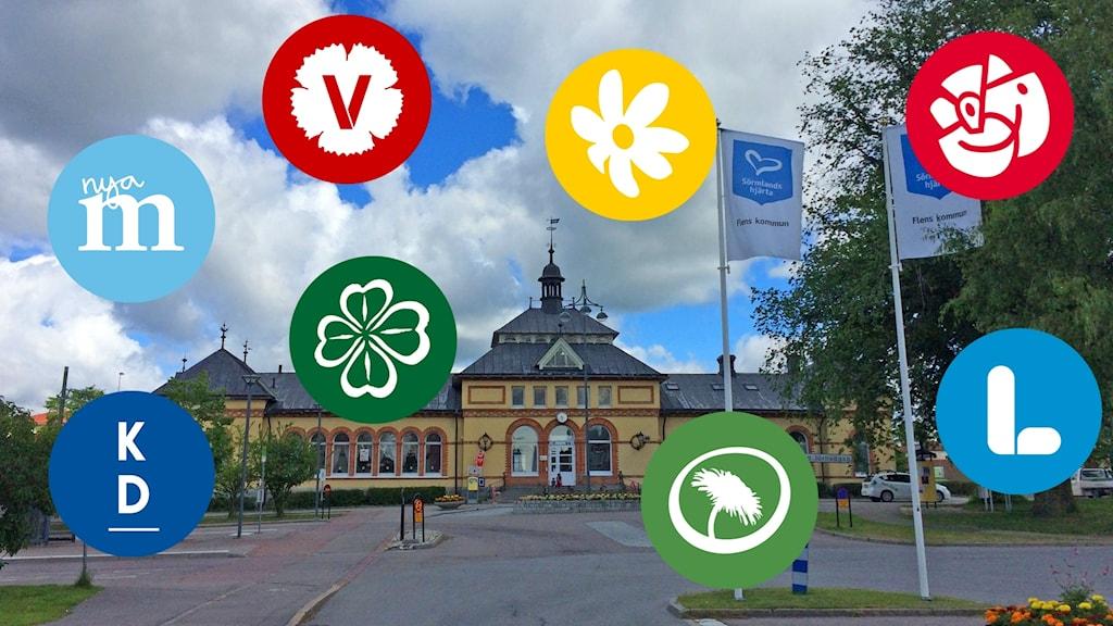 Stationshuset i Flen.