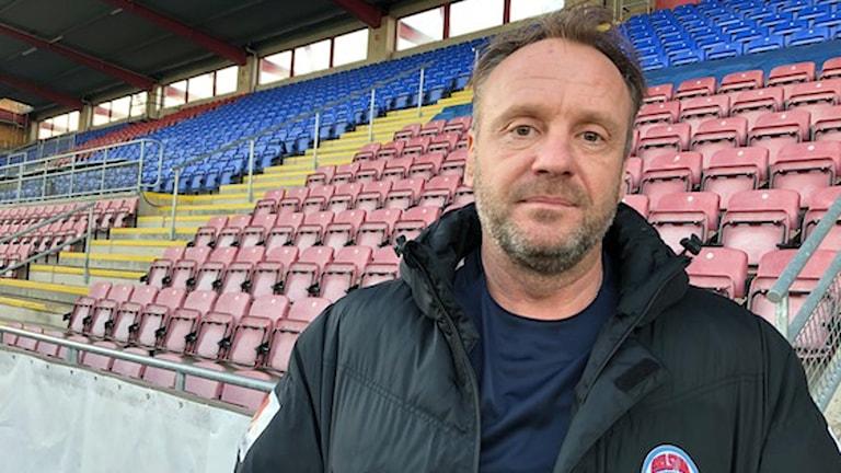 Eskilstuna Uniteds tränare Jonas Björkgren